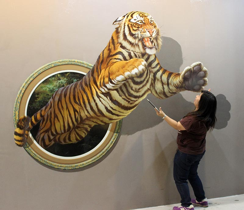 Wall Painting Illusions